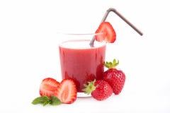 Free Strawberry Juice Stock Image - 48763591