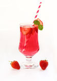 Strawberry juice for healtht. Stock Photography