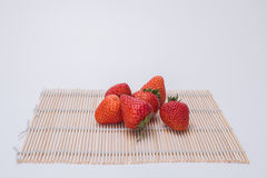 Strawberry. Is a kind of fresh and juicy, rich fruit aroma of the healthy food and contain rich vitamin c, has a variety of beneficial health properties of the Royalty Free Stock Photography