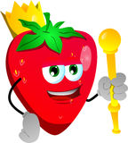 Strawberry king Royalty Free Stock Photo