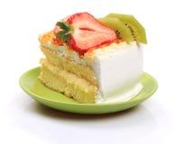 Strawberry  Kiwi cheesecake Royalty Free Stock Photo