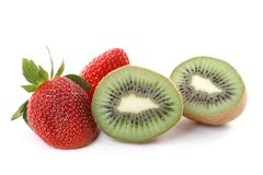 Strawberry kiwi Stock Photography