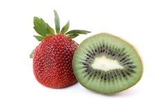 Strawberry Kiwi Stock Photo