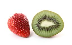 Strawberry Kiwi Royalty Free Stock Images