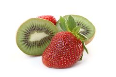 Strawberry kiwi Royalty Free Stock Photos