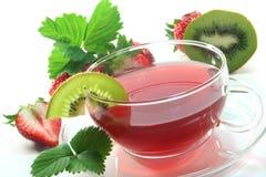 Strawberry Kiwi Tea Stock Photos