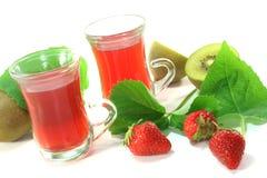 Strawberry-kiwi tea Royalty Free Stock Photography