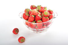 Strawberries. Strawberry known as Raspberry ocean berry, and berry, is a red fruit. Strawberry strawberry Rosaceae genus of plants commonly known, is a perennial Royalty Free Stock Photos