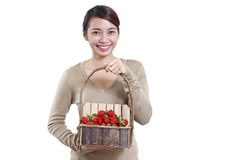 Strawberry Lady Stock Images