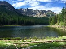 Strawberry lake. At strawberry mountain Royalty Free Stock Photography