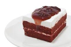 Strawberry layer cake Stock Image