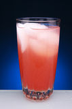 Strawberry Lemonade in Glass  Royalty Free Stock Photography