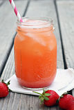 Strawberry Lemonade Royalty Free Stock Photos