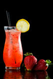 Strawberry lemonade Stock Images