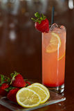 Strawberry lemonade Stock Photography