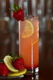 Strawberry lemonade Royalty Free Stock Photo