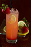 Strawberry lemonade Stock Photo