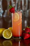 Strawberry lemonade Stock Photo