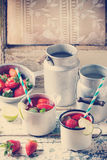 Strawberry lemonade Stock Photography