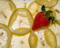Strawberry Lemons Stock Images