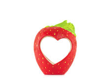 Strawberry for love. Strawberry berry for love. On a white background Royalty Free Stock Image
