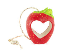 Strawberry for love. Strawberry berry for love. On a white background Stock Images