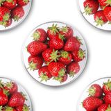 Strawberry luxury royalty free stock photography