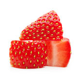 Strawberry macro Royalty Free Stock Photography
