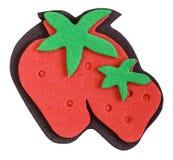Strawberry magnet Stock Image