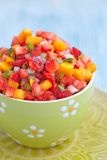 Strawberry mango salsa Royalty Free Stock Photo