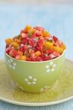 Strawberry mango salsa Stock Image