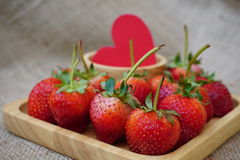 The strawberry. Stock Images
