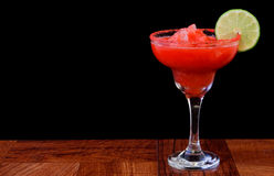 Strawberry margarita Stock Photos
