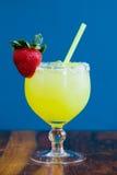 Strawberry Margarita at Bar Royalty Free Stock Photography