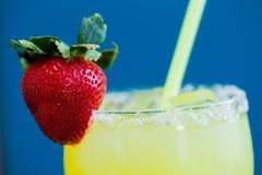 Strawberry Margarita at Bar Stock Photography