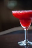 Strawberry margarita cocktail Stock Photo