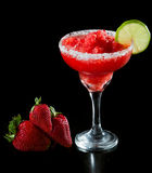 Strawberry margarita Royalty Free Stock Photography