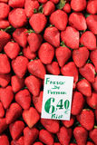 Strawberry in market Stock Photo