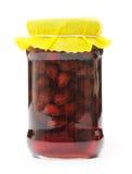 Strawberry marmalade Stock Image