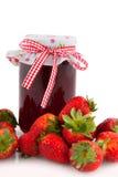 Strawberry marmalade Royalty Free Stock Photos