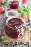 Strawberry marmalade Royalty Free Stock Image