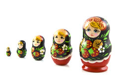 Strawberry matryoshka Royalty Free Stock Photos