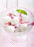 Strawberry  mess Stock Images