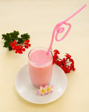 Strawberry Milk Royalty Free Stock Image