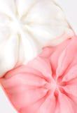Strawberry and milk ice cream Stock Photos