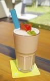 Strawberry milk shake Stock Image