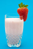 Strawberry milkshake Stock Photography