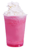 Strawberry milkshake Stock Image