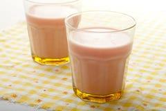 Strawberry Milkshake Royalty Free Stock Photography