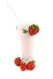 Strawberry milkshakes Stock Photography